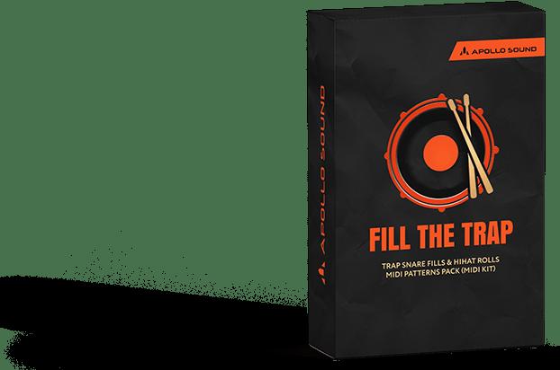 Fill The Trap ☆ Trap Drum Loops • Trap Hihat Midi & Snare Roll