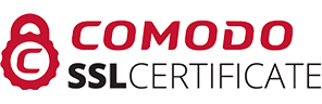 Your transactions are secured with Comodo ssl Certificate